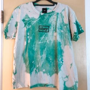 Obey tie dye t-shirt